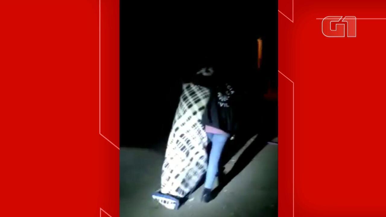 Polícia Civil liberta mulher mantida em cativeiro em Taquara