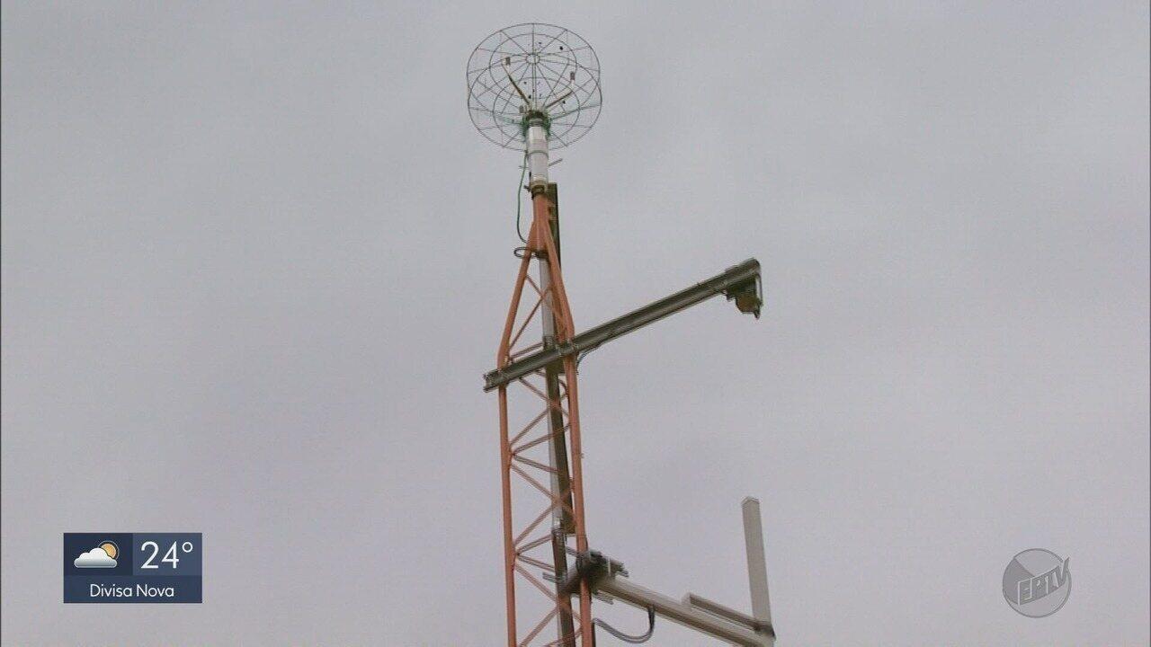 Aeroporto de Varginha (MG) recebe novos equipamentos, entre eles uma estação meteorológica