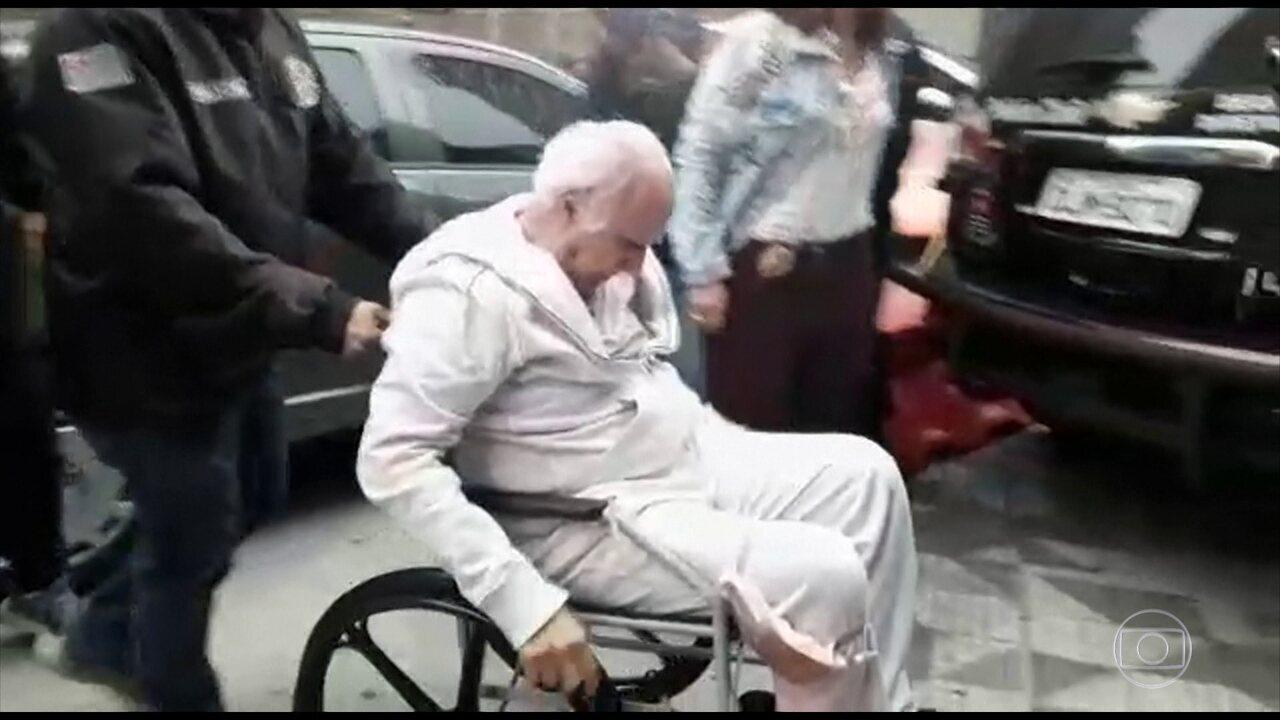 Roger Abdelmassih é levado para hospital penitenciário em São Paulo