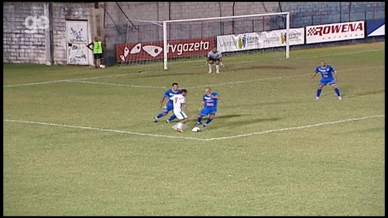 Os gols de Vitória-ES 2 x 1 Real Noroeste pelo Campeonato Capixaba 2012