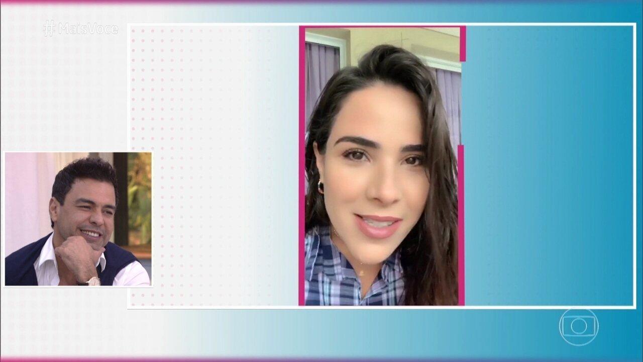 Wanessa, Camila e Igor mandam mensagem de aniversário para Zezé Di Camargo