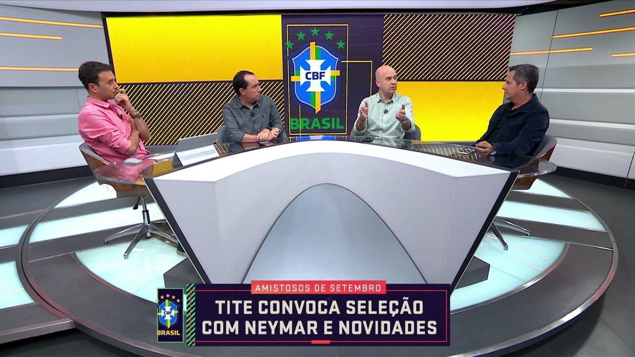 Comentaristas falam sobre a convocação do Neymar para a Seleção Brasileira