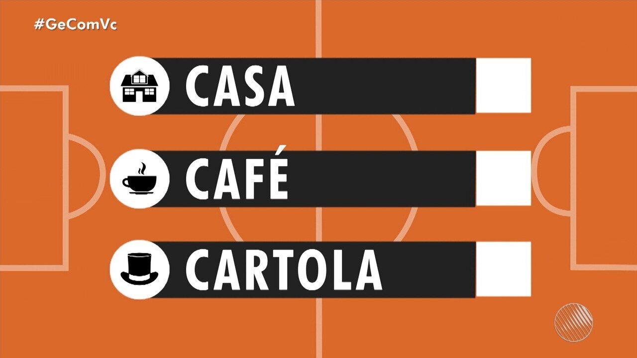 """Confira dicas do """"Casa, Café e Cartola"""" para 'mitar' na rodada do Brasileirão"""