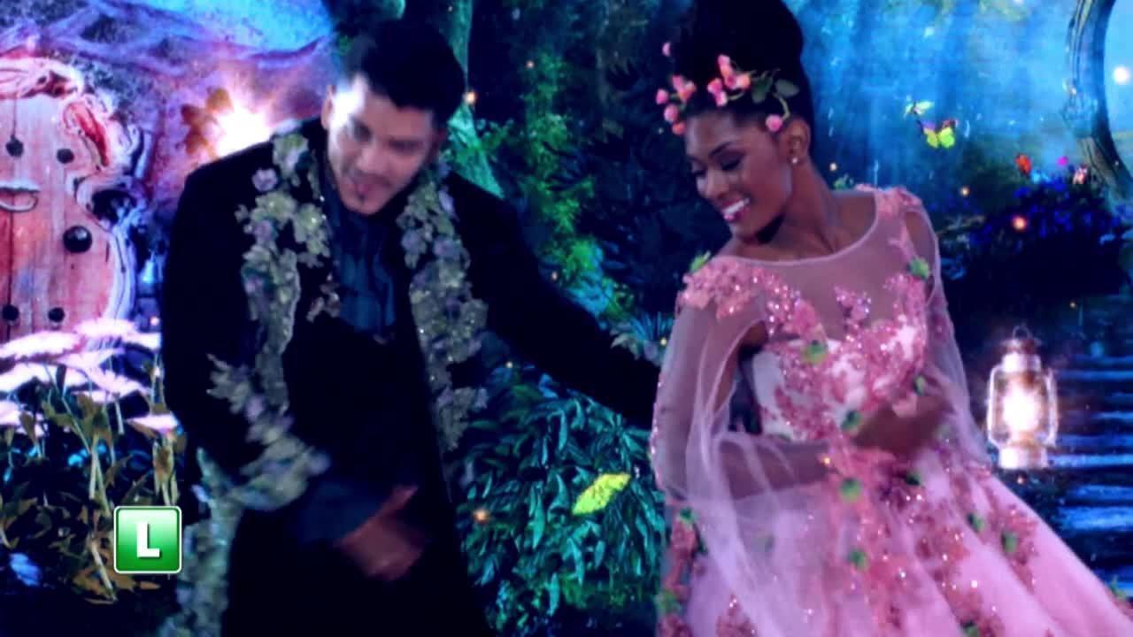 Erika Januza relembra sua participação no 'Dança dos Famosos'