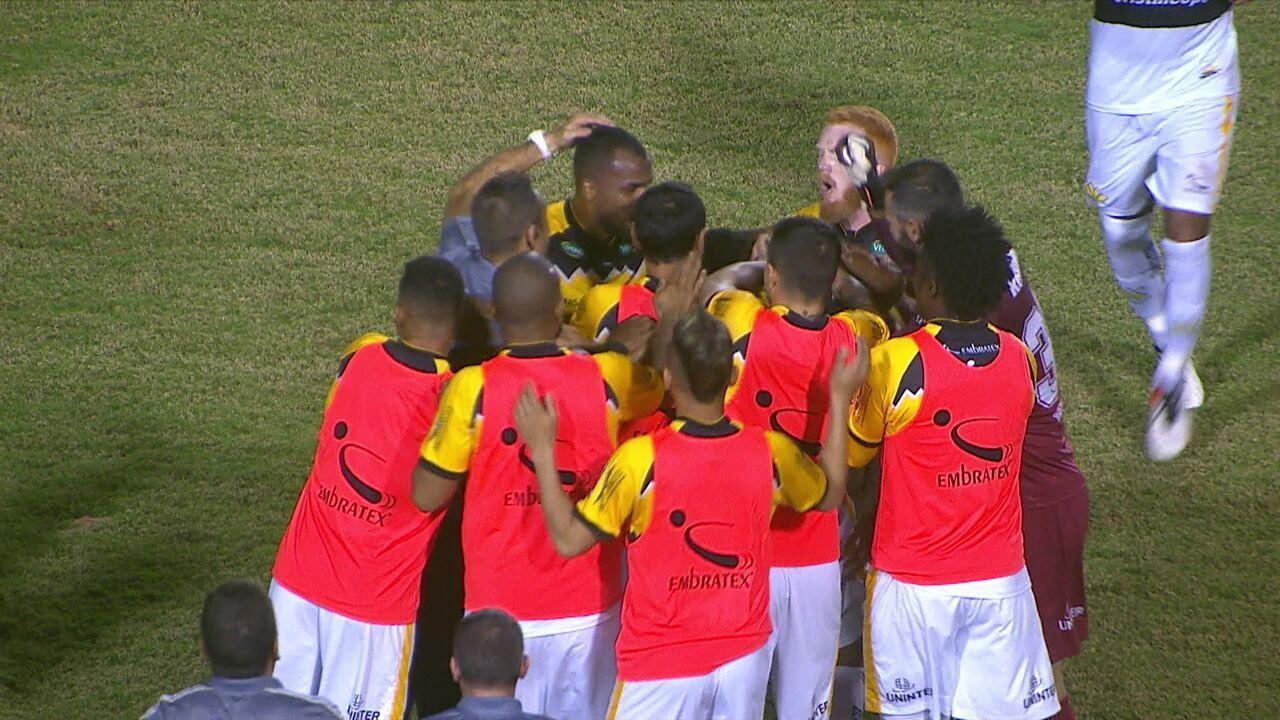 Os gols de Londrina 1 x 1 Criciúma pela 16ª rodada do Brasileiro Série B