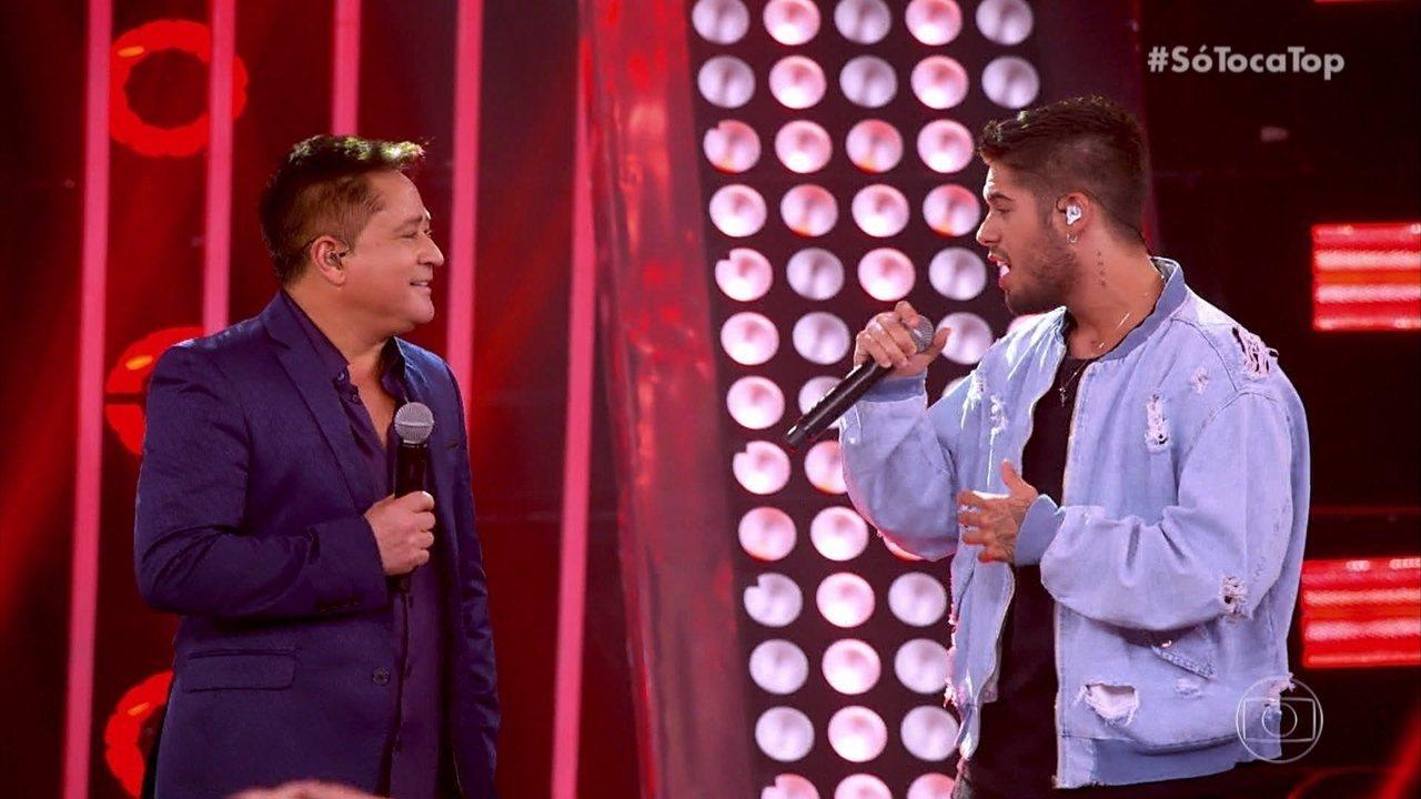 Zé Felipe e Leonardo cantam 'Eu Juro'