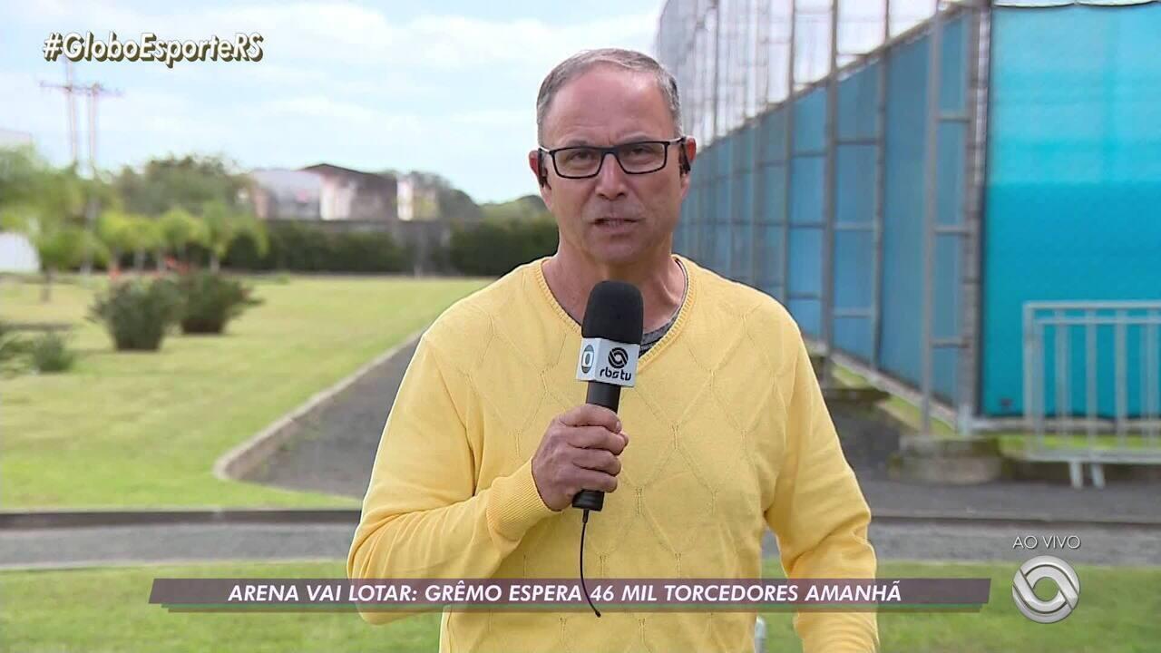 Veja as últimas informações do Grêmio