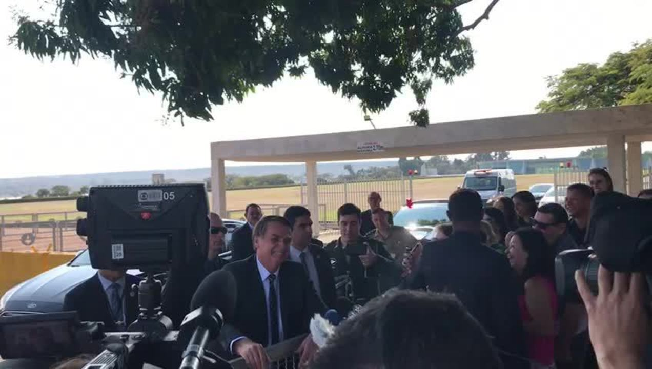 Bolsonaro disse que não quer submeter o filho Eduardo a um 'fracasso'