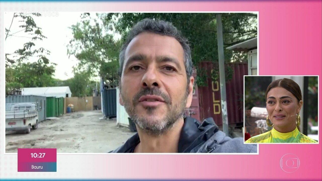 Marcos Palmeira manda recado para Juliana Paes