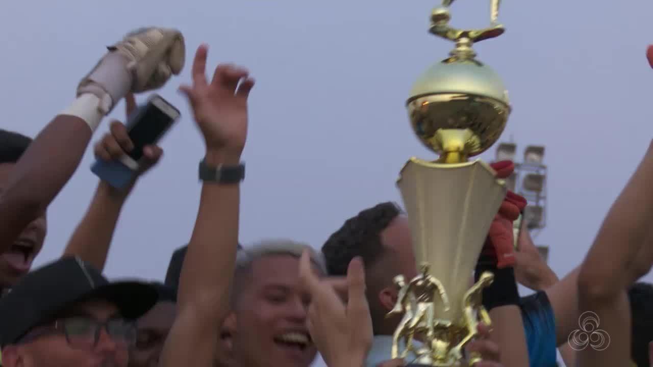 Churrascão depois da vitória: Vilhenense comemora a taça do estadual sub-20