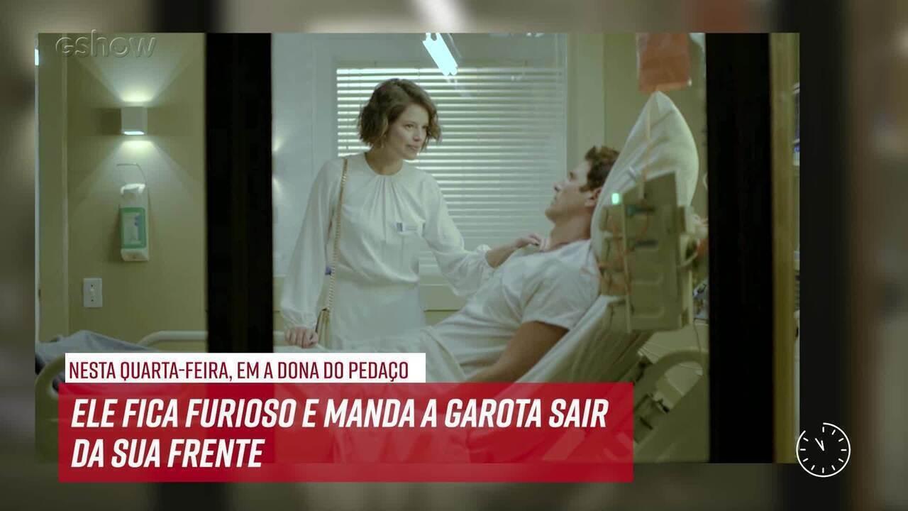 Resumo do dia - 21/08 – Régis expulsa Josiane do hospital