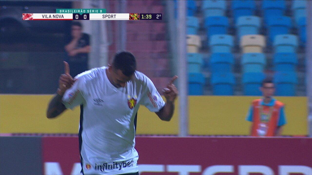 Melhores momentos de Vila Nova 0 x 2 Sport pela 17ª rodada da Série B do Campeonato Brasileiro