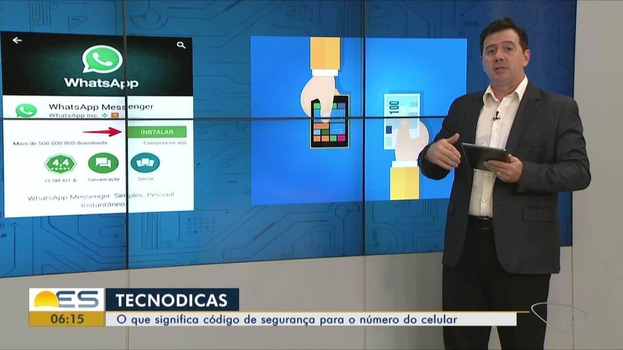 Tecnodicas: o que significa código de segurança para o número do celular