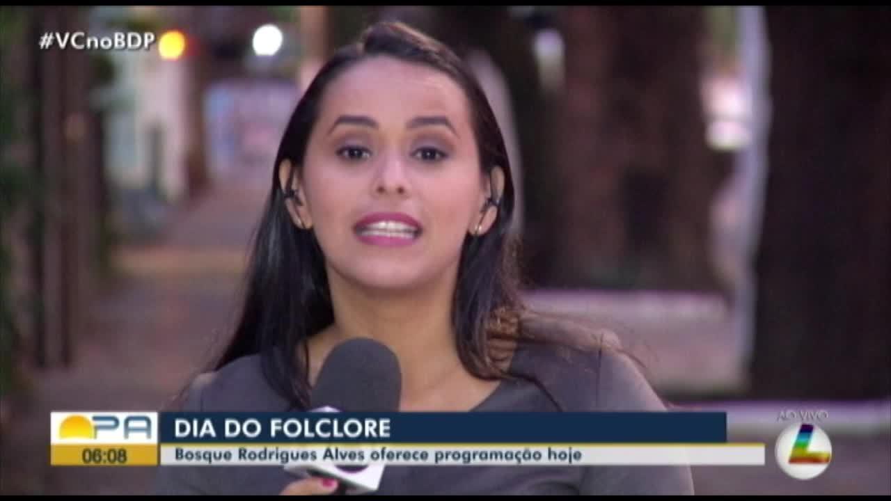 Bosque Rodrigues Alves realiza programação especial no dia do Folclore