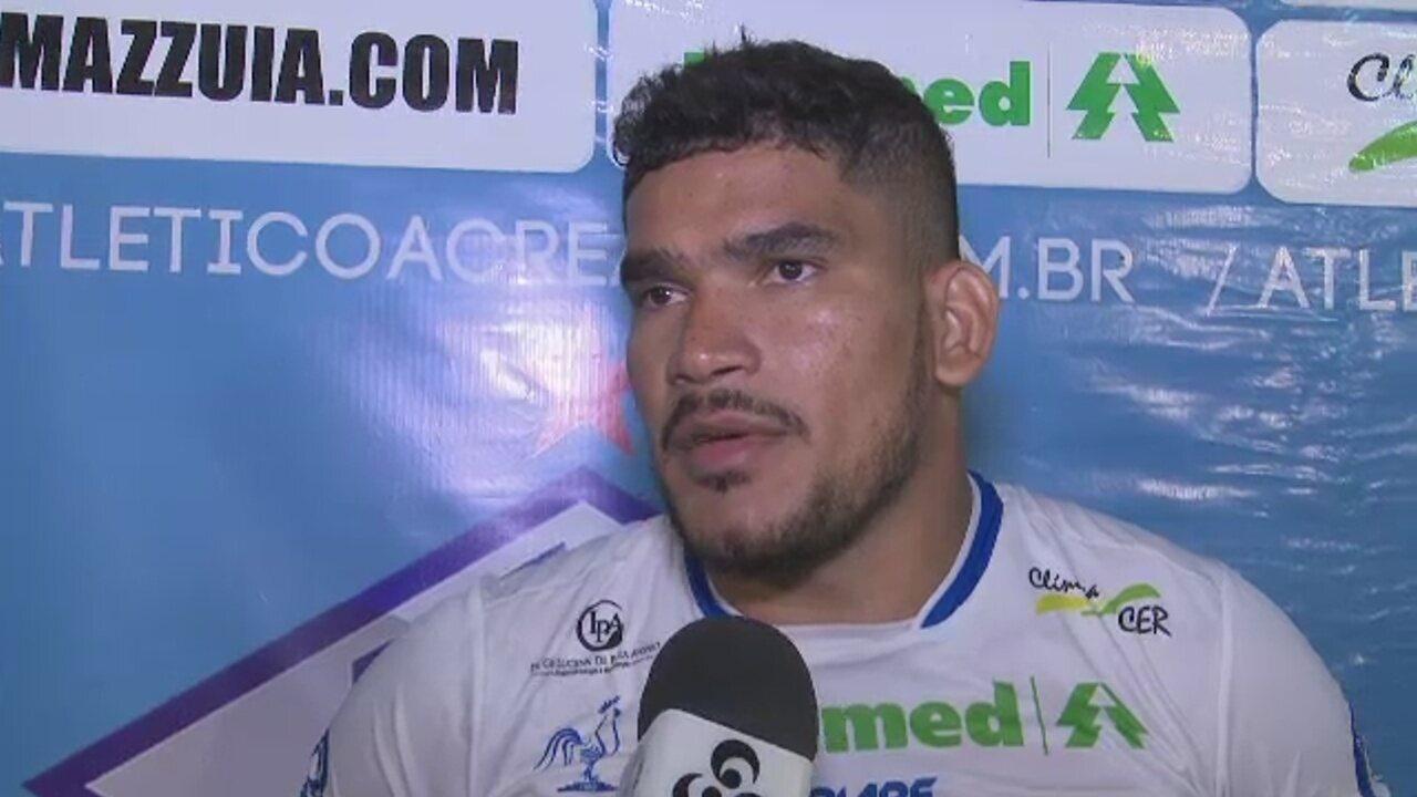 Diego diz que Atlético-AC joga Copa Verde para salvar ano e foca confrontos contra o Remo