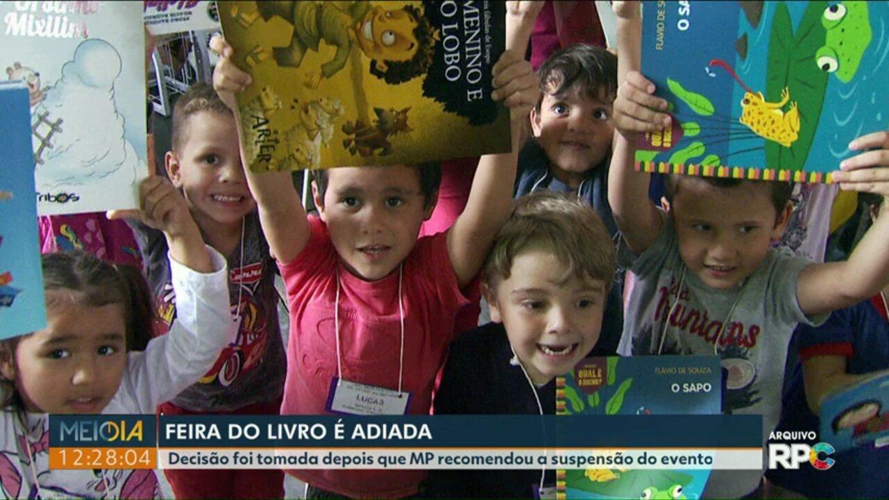 15ª edição da Feira do Livro de Foz do Iguaçu é adiada