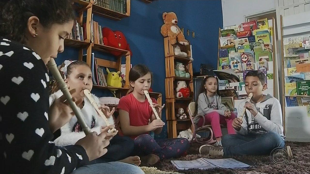 Professor cria projeto gratuito de arte, cultura e educação para crianças em Jales