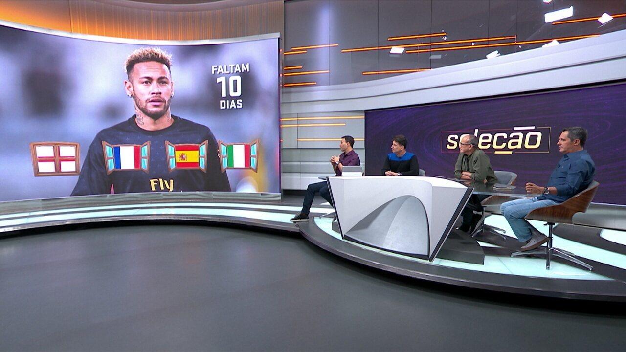 Barcelona e Real Madrid seguem na briga por Neymar