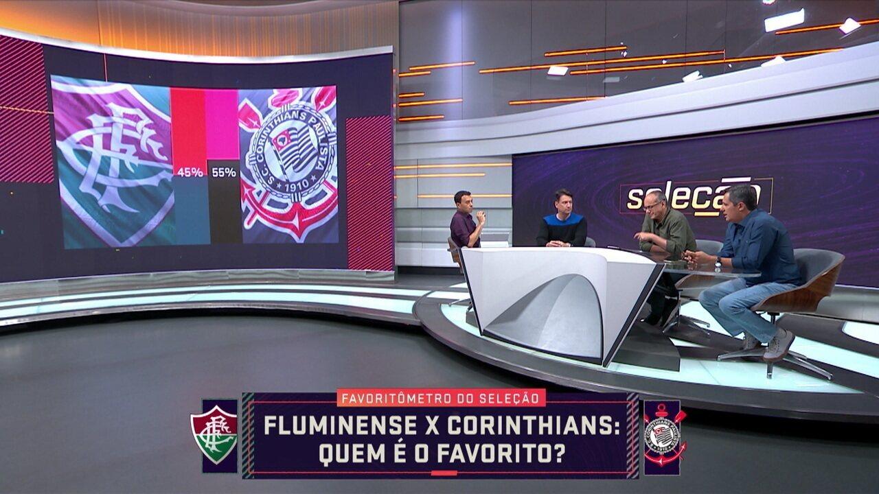 """Mesa do Seleção SporTV fala como estão os duelos nos jogos da Sul-Americana e da Libertadores no """"favoritômetro"""""""