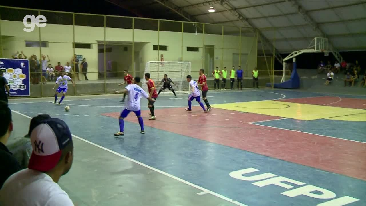 Gol do Filipenses - Taça Clube de Futsal