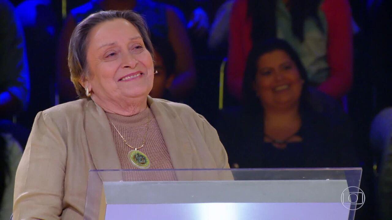 Dona Carmen participa do 'Quem Quer Ser Um Milionário'