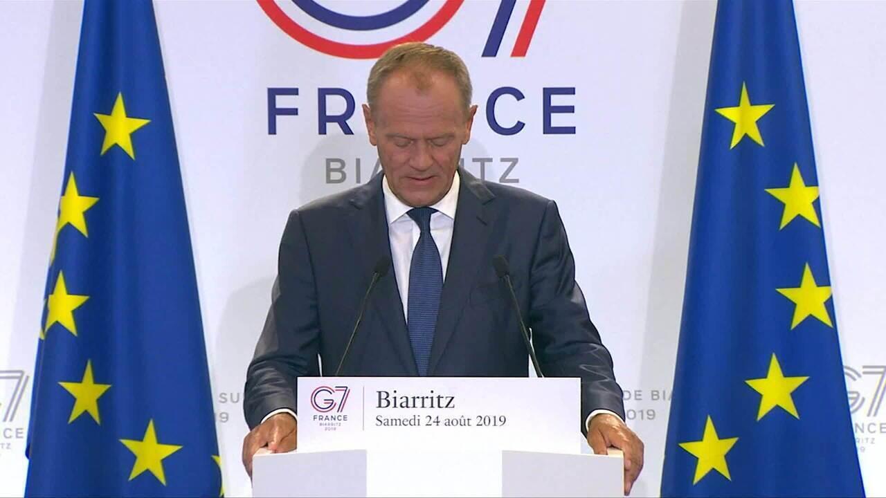 'Sinal deprimente dos nossos tempos', diz presidente do Conselho Europeu sobre queimadas