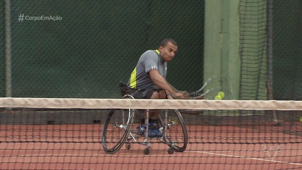 Santos é palco de etapa do circuito mundial de tênis em cadeira de rodas