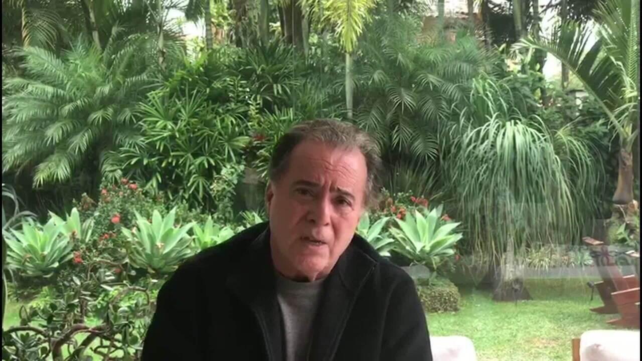 Tony Ramos lamenta a morte de Fernanda Young e diz que Brasil perdeu uma grande criadora