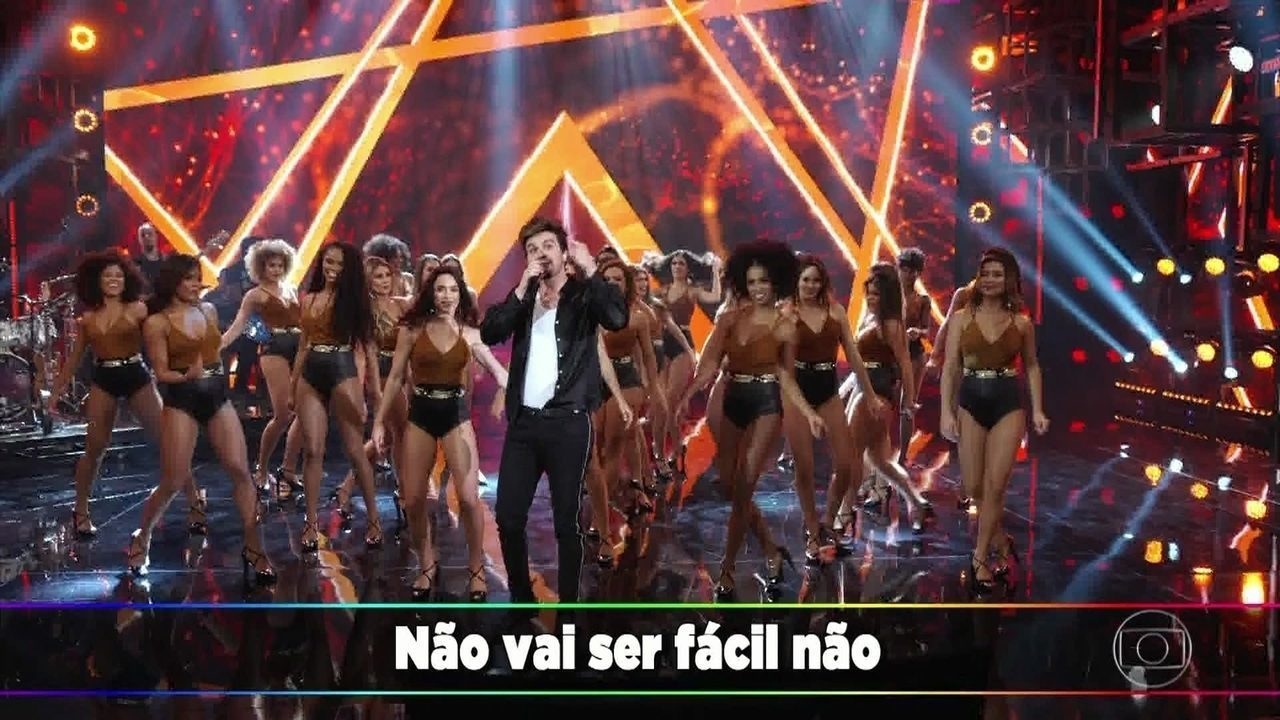 Luan Santana canta 'Quando a Bad Bater'