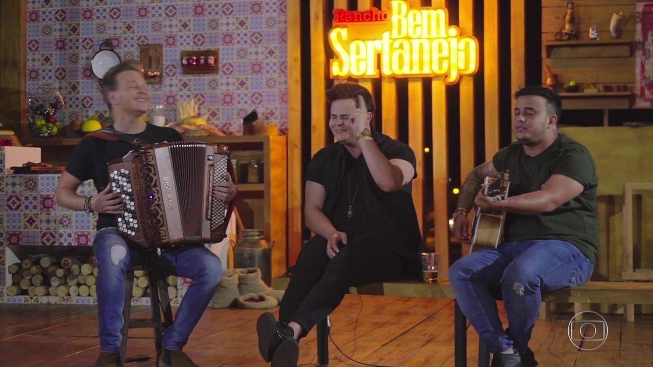 Michel Teló recebe Jorge & Mateus e Matheus & Kauan na volta do Bem Sertanejo