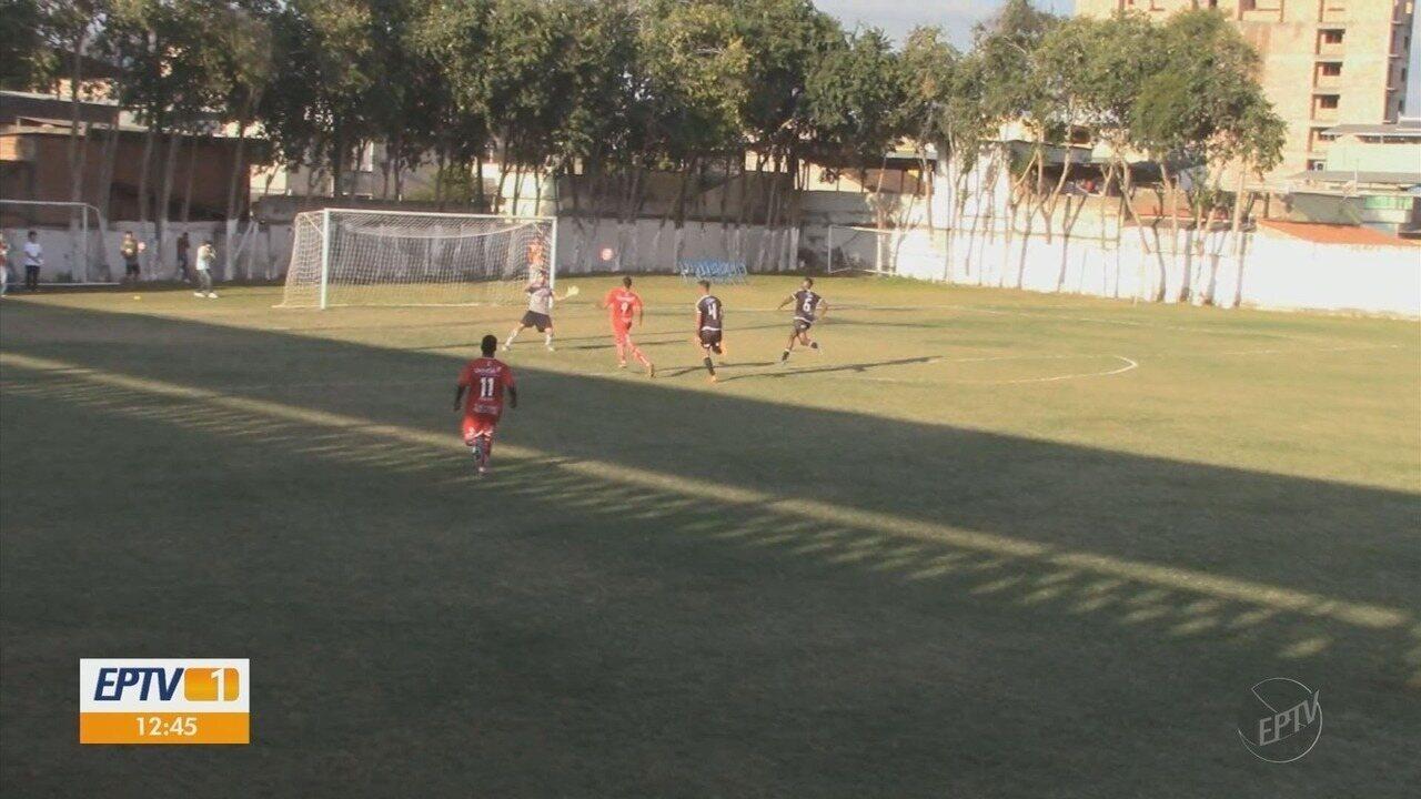 Atlético de Três Corações goleia o Figueirense-MG pela Segundona do Mineiro