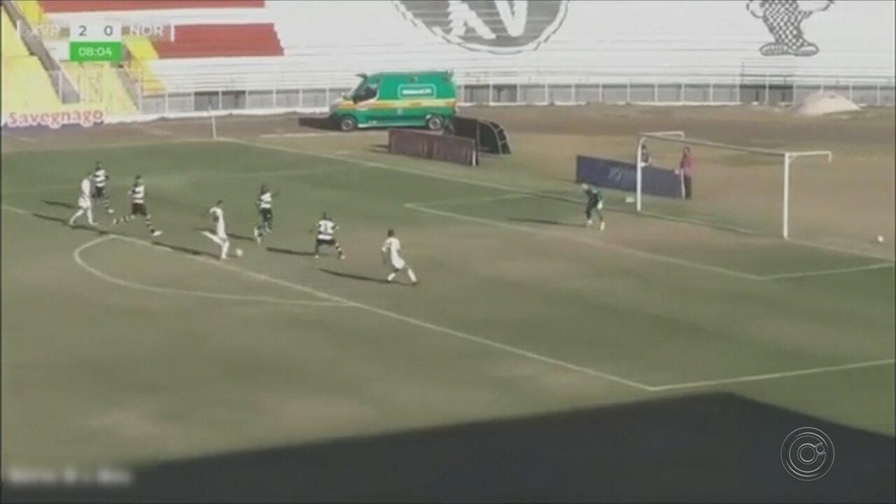 Noroeste perde para XV e está eliminado da Copa Paulista