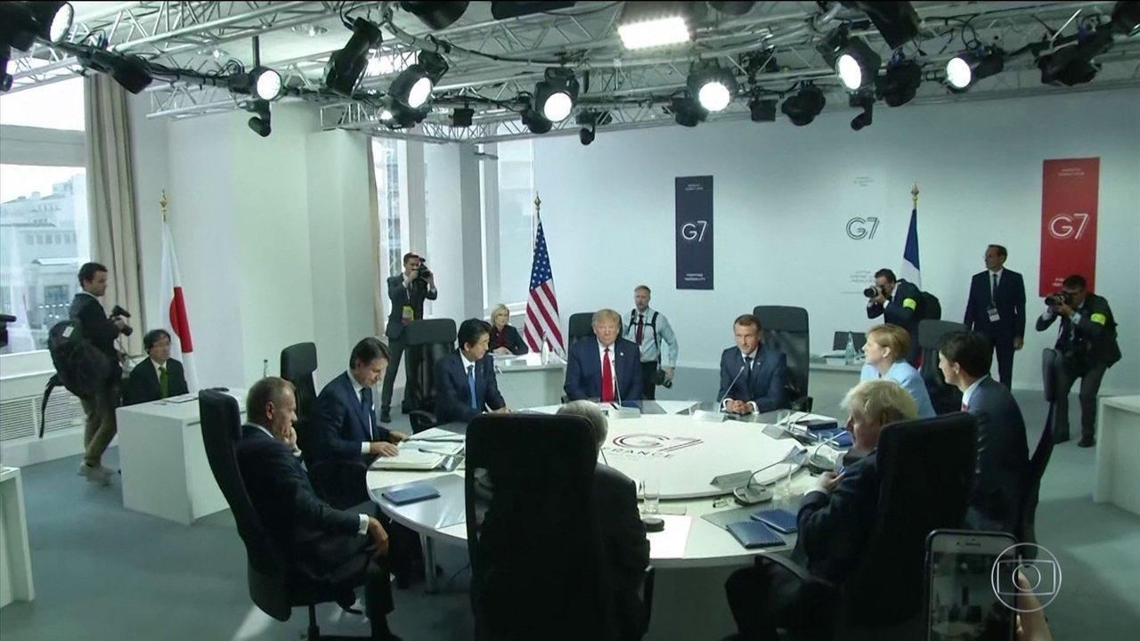 Amazônia terá R$ 90 milhões do G7 para queimadas, diz presidente francês