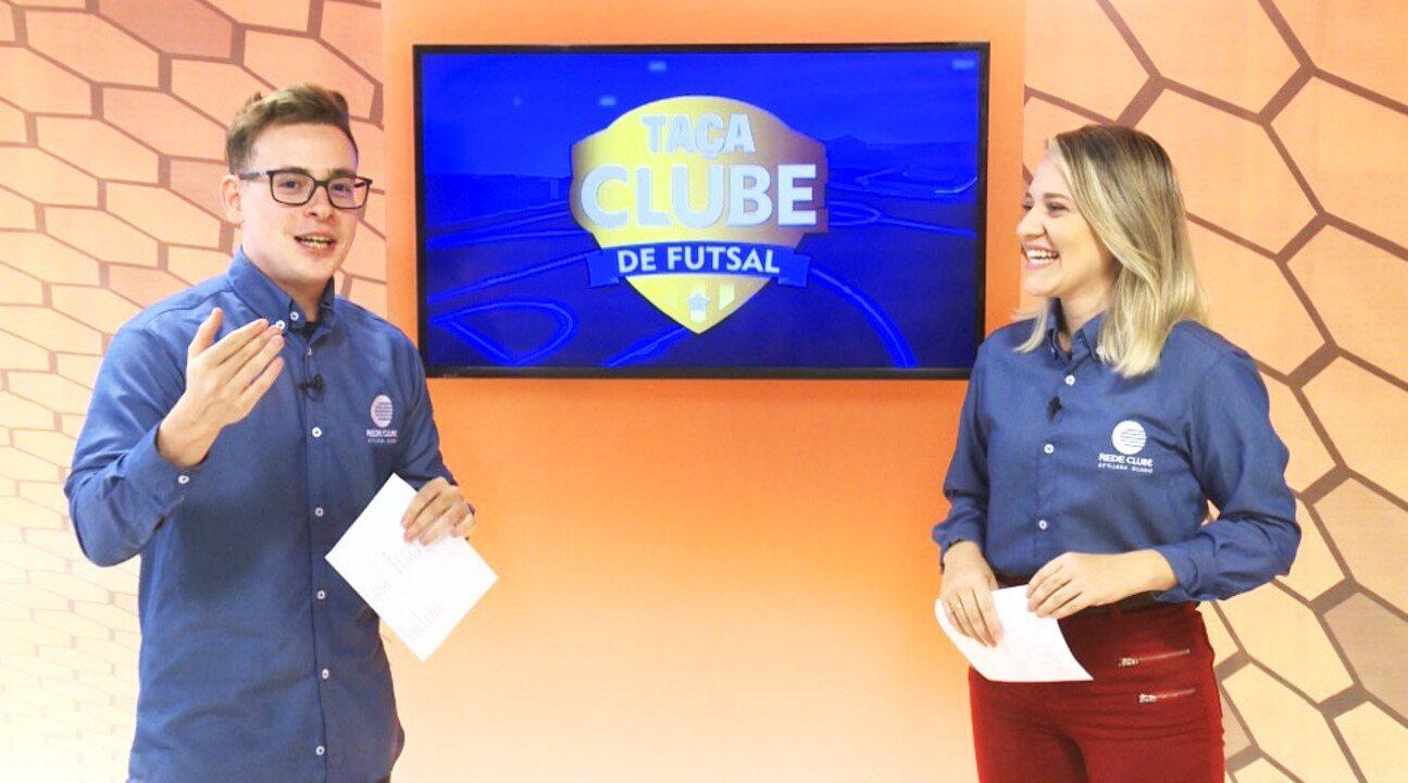 Taça Clube de futsal: esquenta para as semifinais da competição