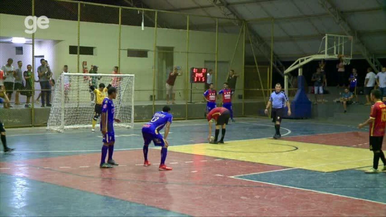 AABB goleia o Cajuína e garante vaga na final da Taça Clube de futsal