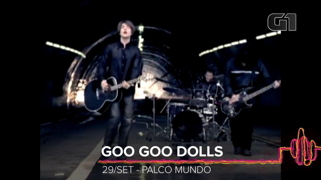 Goo Goo Dolls: Como será o show no Rock in Rio 2019?