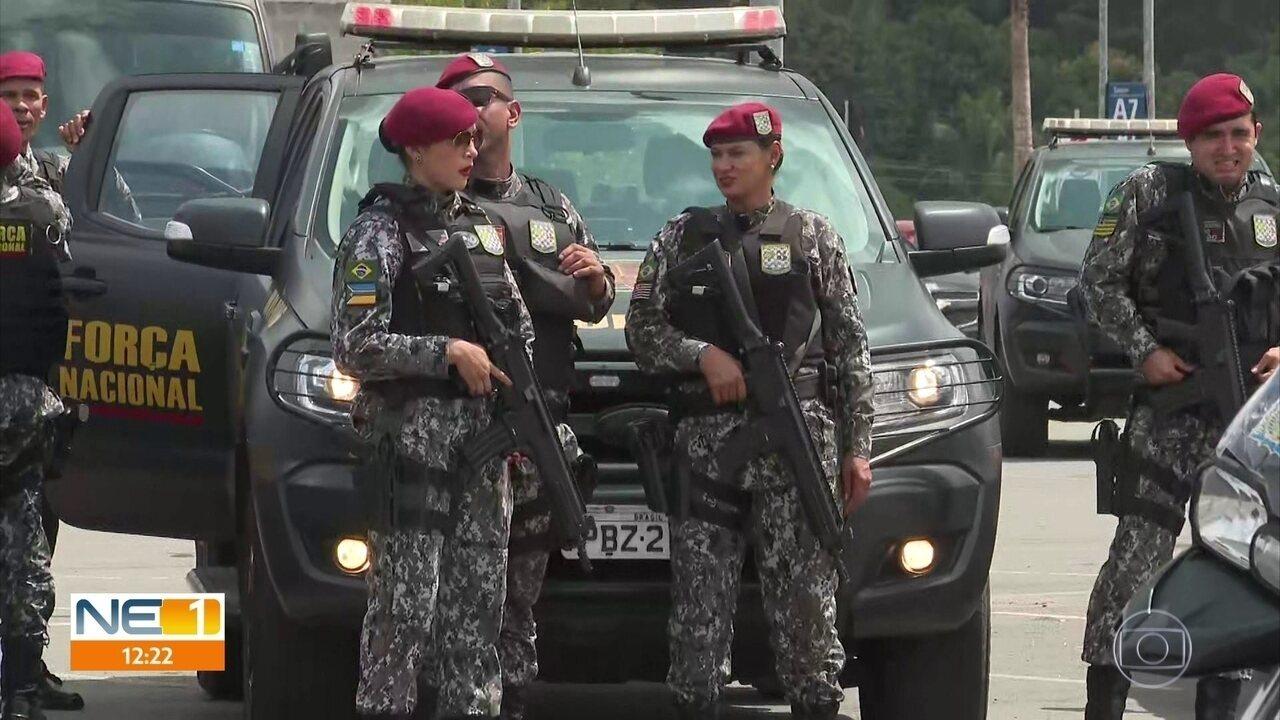 Agentes da Força Nacional reforçam segurança em Paulista