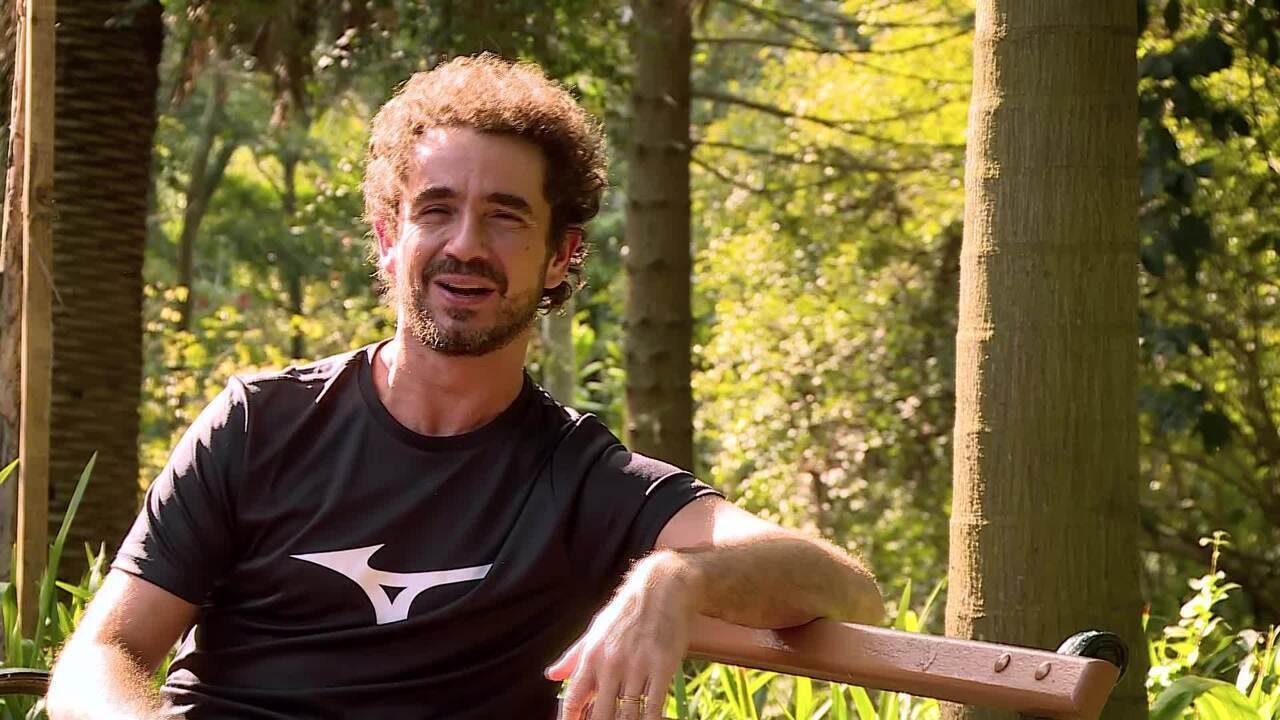 Felipe Andreoli conta sobre sua relação com a corrida