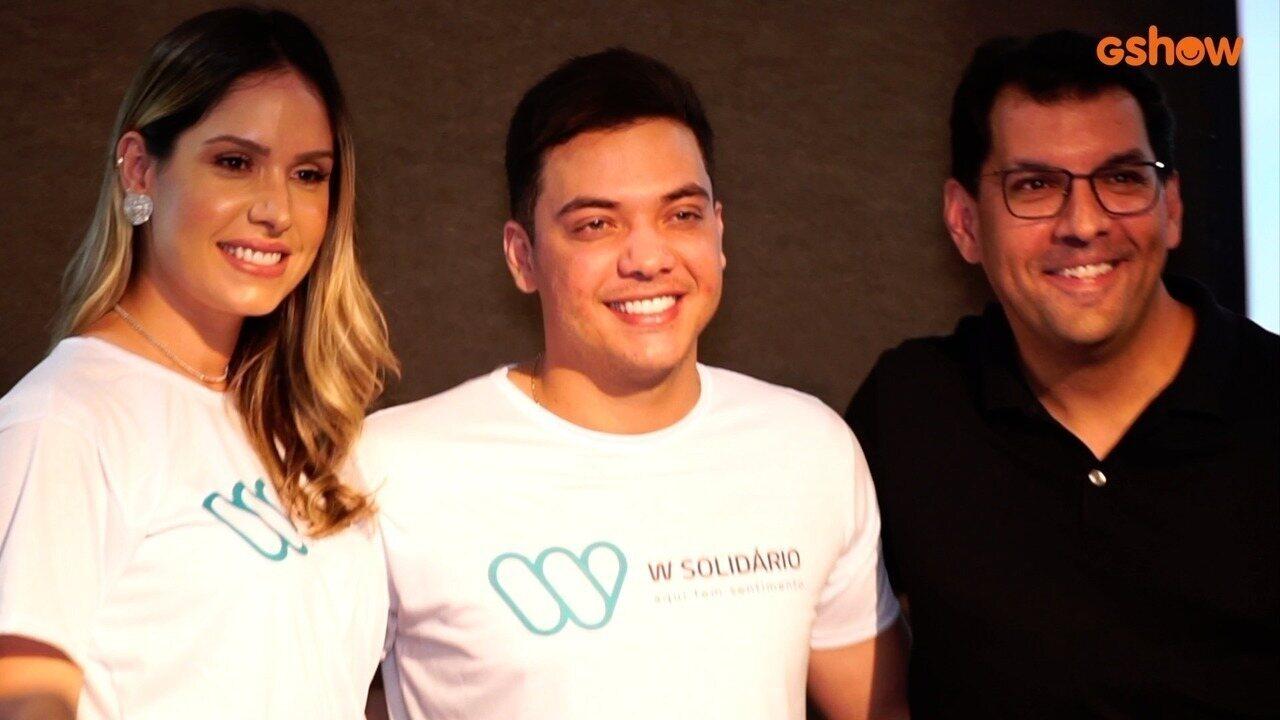 Wesley Safadão e Thyane Dantas lançam o projeto W Solidário