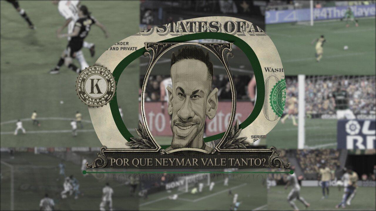Por que Neymar vale tanto? O dinheiro do jogador só multiplica, já os títulos...