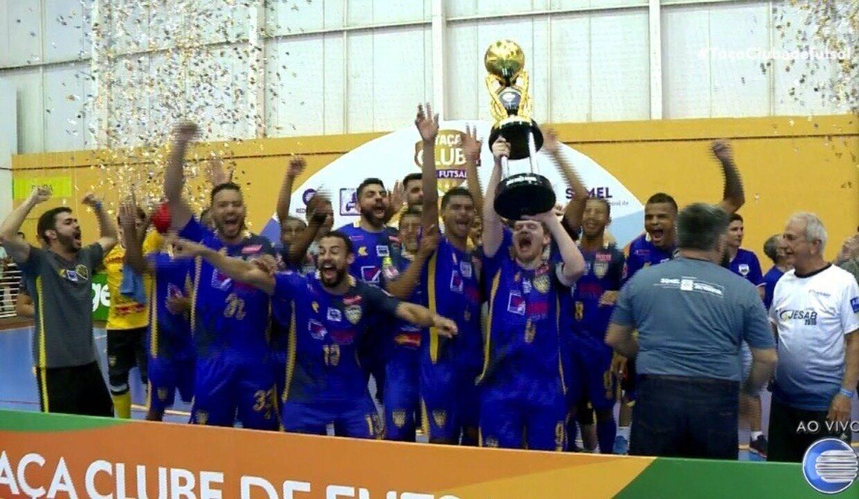 AABB empata com JES e conquista título da Taça Clube de Futsal