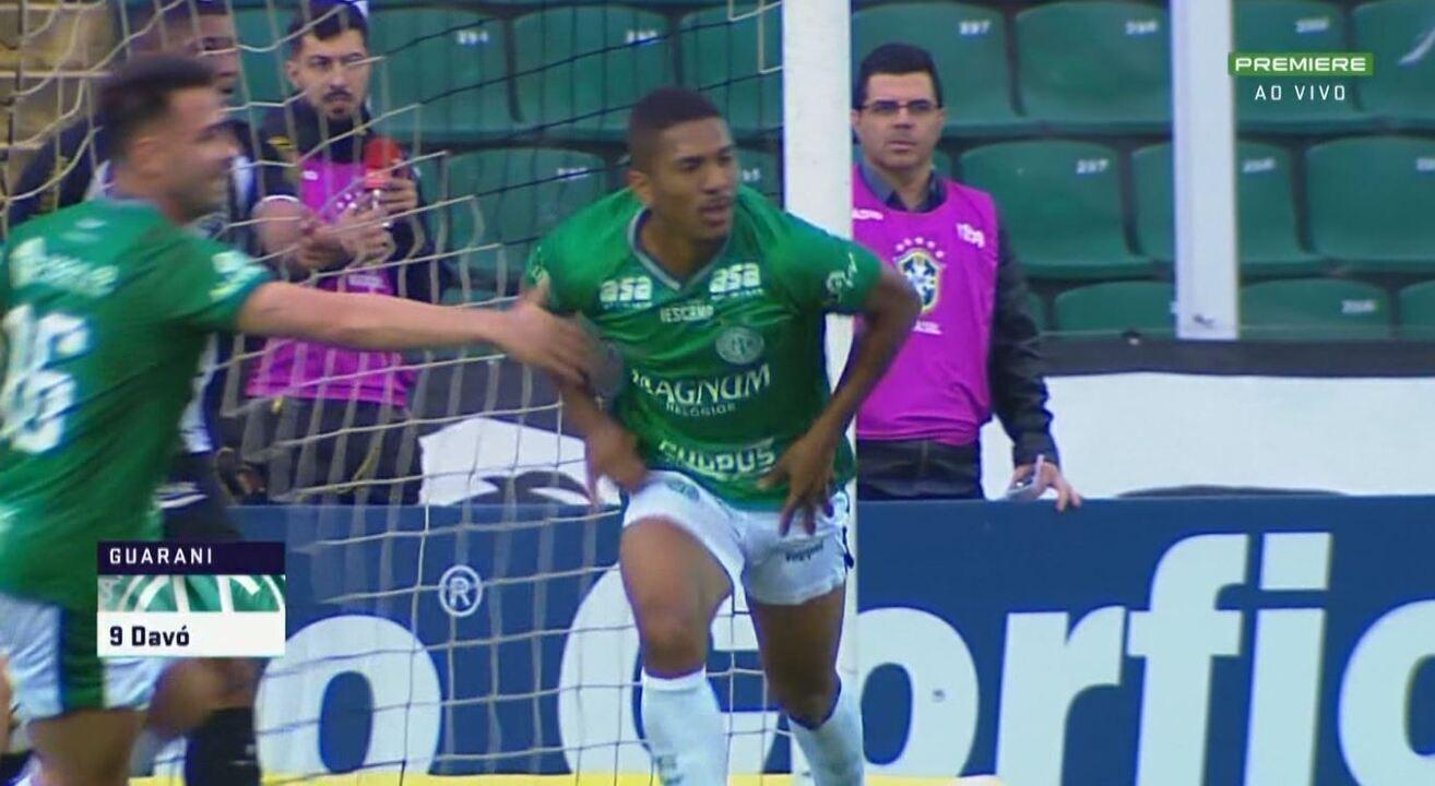 Os melhores momentos de Figueirense 0x1 Guarani, pela 20ª rodada da Série B