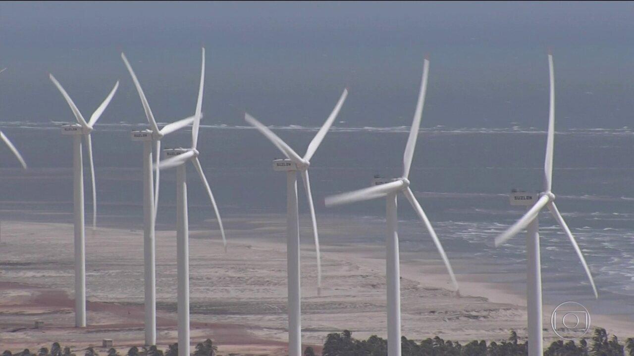 Resultado de imagem para Produção de energia eólica bate recorde no Nordeste