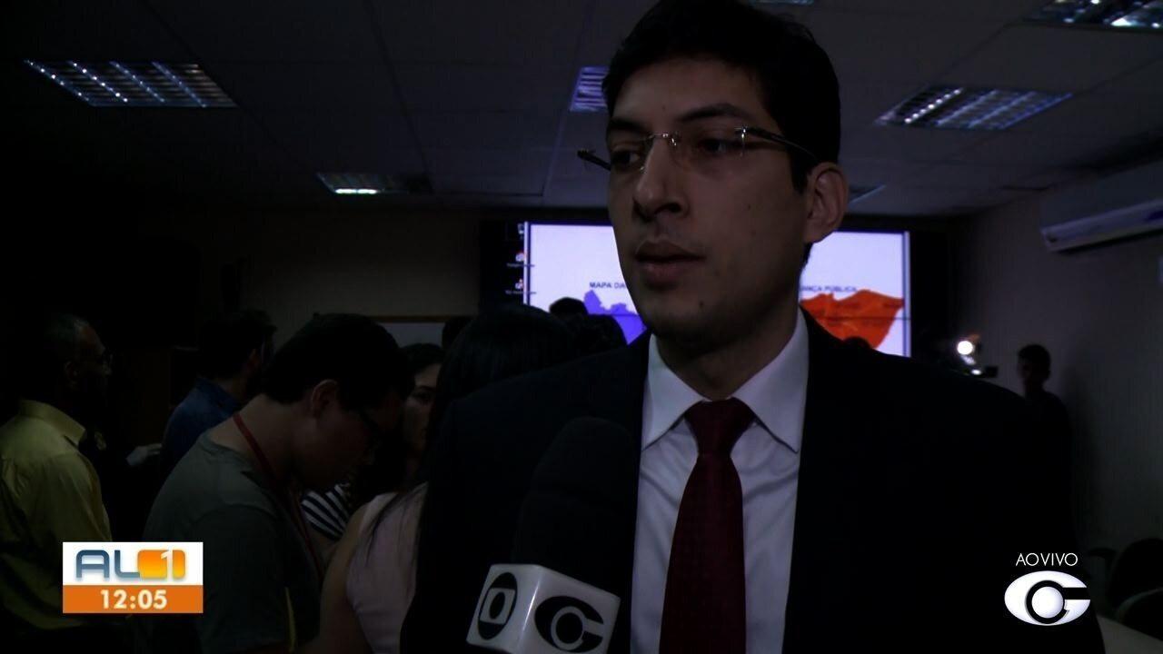 Polícia Civil dá detalhes de operação em Girau do Ponciano em coletiva