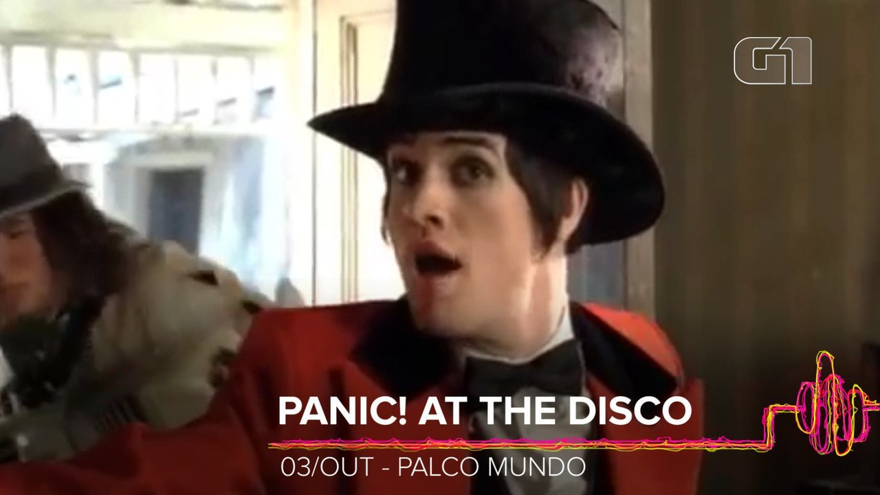 Panic! At The Disco: Como será o show no Rock in Rio 2019?