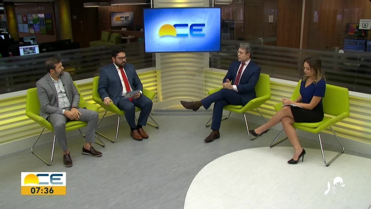 O Bom Dia Ceará recebe o secretário-chefe da Casa Civil, Élcio Batista