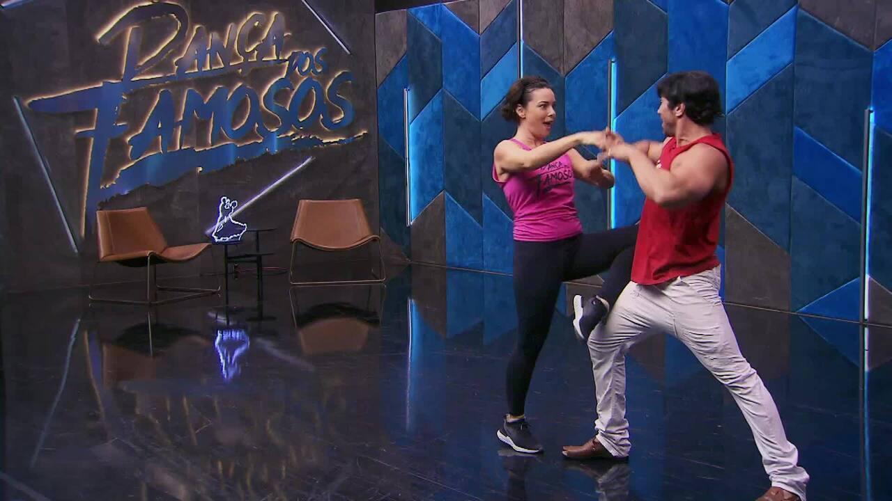 Veja o ensaio de Regiane Alves com Reginaldo Sama no 'Dança dos Famosos' no forró