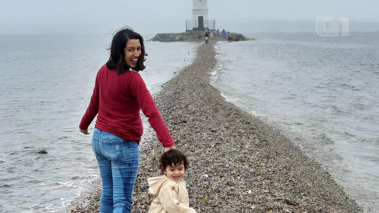 Brasileira percorre Transiberiana com a filha de 2 anos