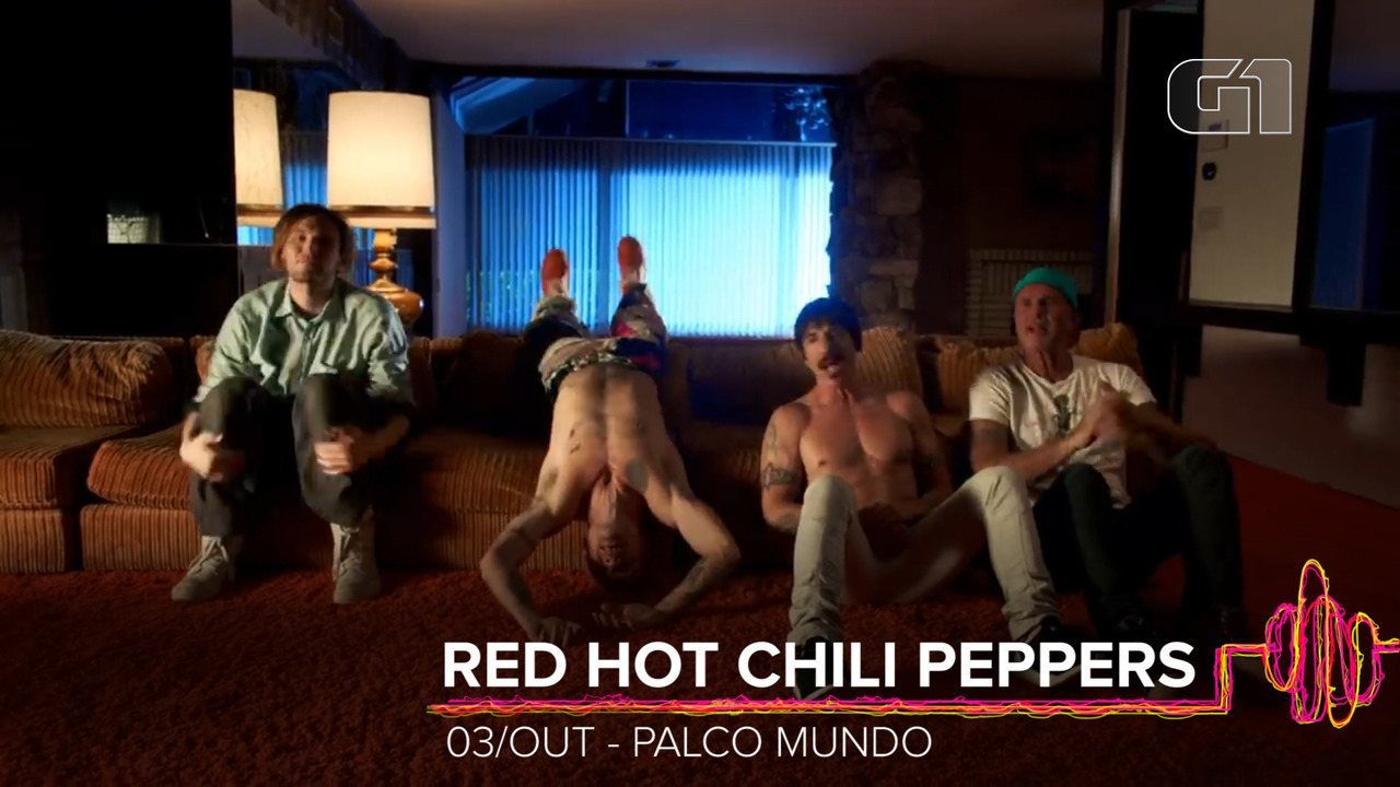 Red Hot Chili Peppers: Como será o show no Rock in Rio 2019?