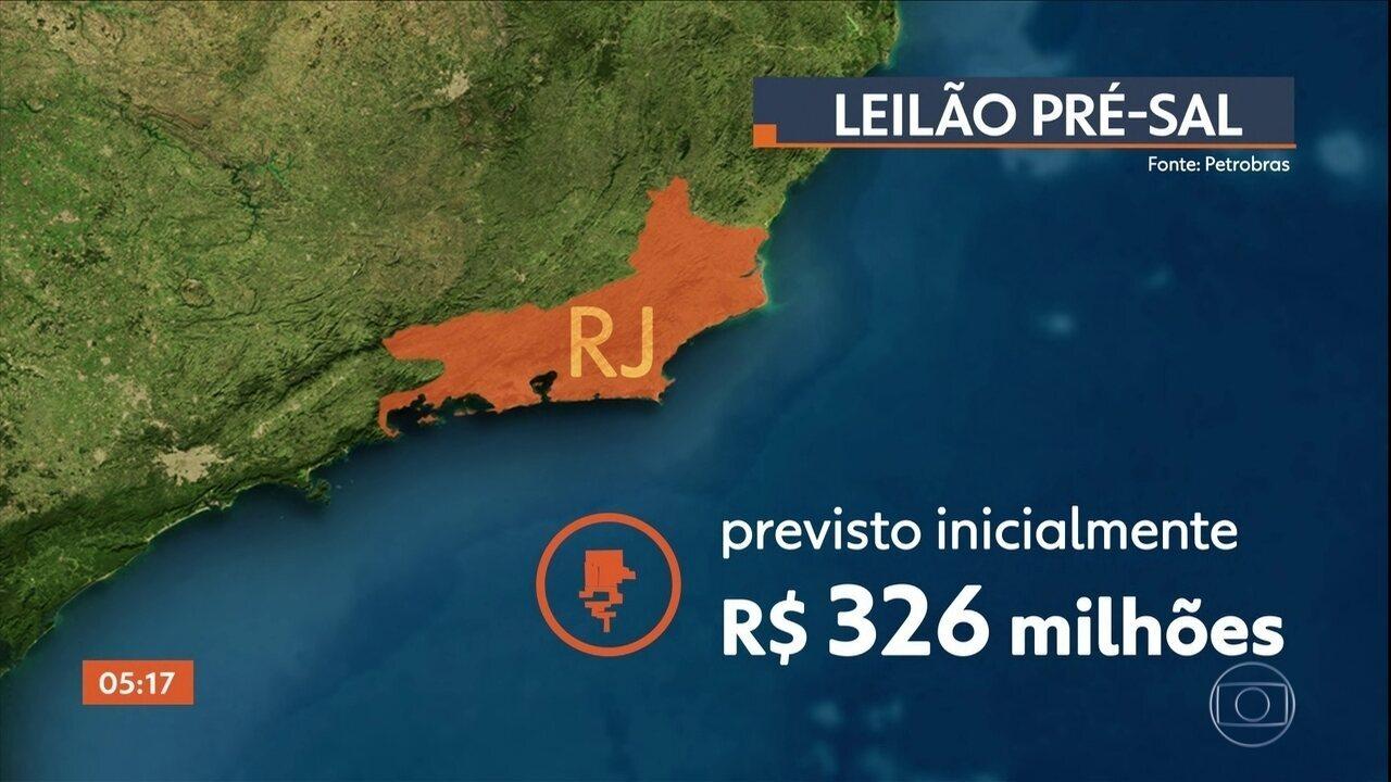 Rio de Janeiro vai receber dinheiro extra no megaleilão da cessão onerosa do pré-sal